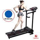 500W Folding Electric Motorized Treadmill Portable Running Gym Fitness Machine