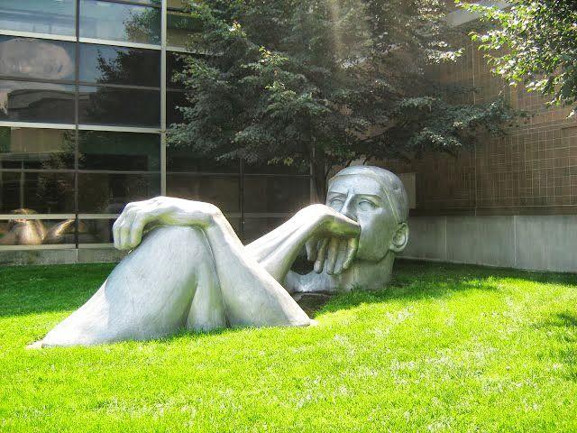 Bowling Green State University - The Thinker Man