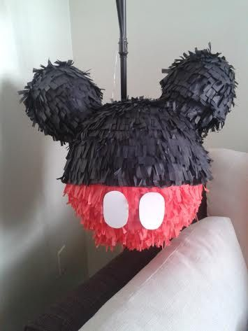 piñata mickey mouse by sisisflowies on Etsy, $39.99