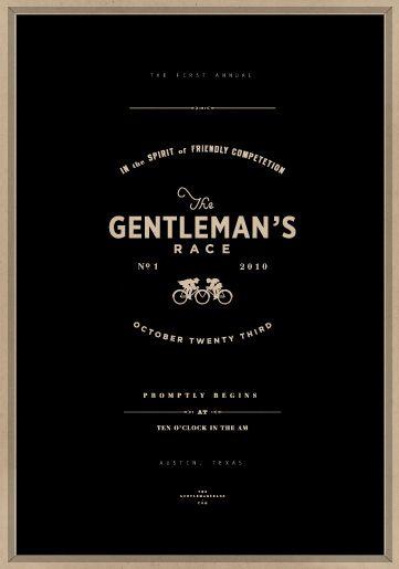 Gentlemans Race
