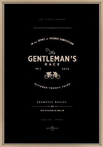 Gentlemans Race