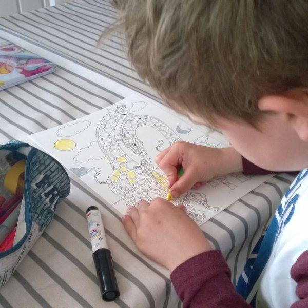 Piirroksia pikkuisille | Tarinatädin värityskuvat