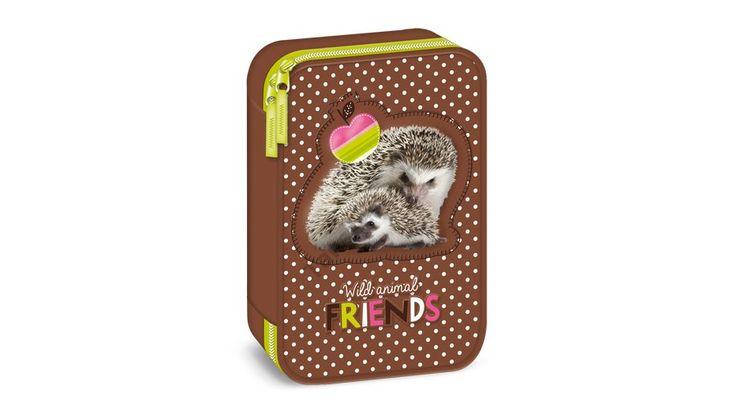 Süni - Hedgehog Többszintes tolltartó Wild Animal Friends