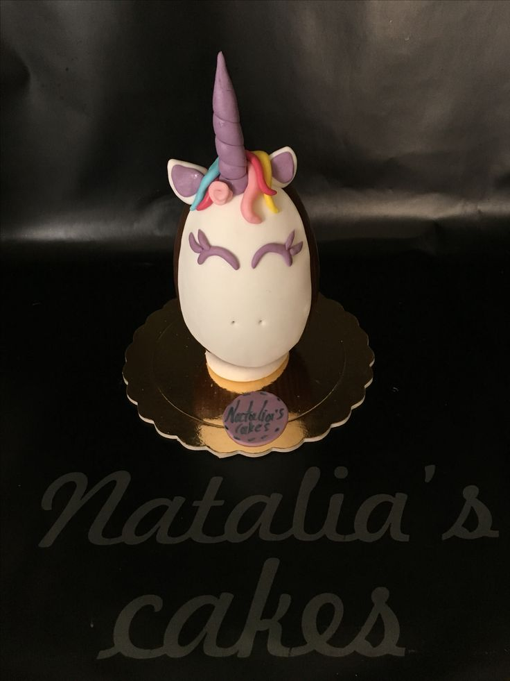 Chocolate Easter egg unicorn!
