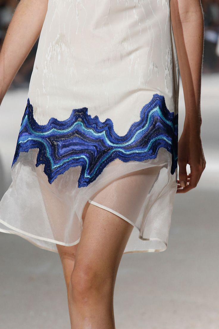 Detail at 3.1 Phillip Lim Spring Summer 2014 | NYFW