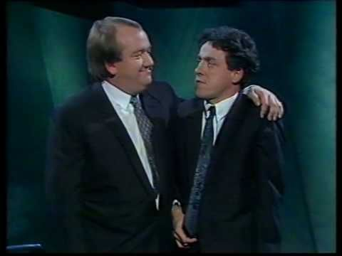 "R.I.P. Mel Smith - A Comedy Great Mel Smith  Griff Rhys Jones - ""The Kiss"" - '90 HQ - YouTube"