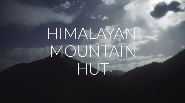Chata w Himalajach