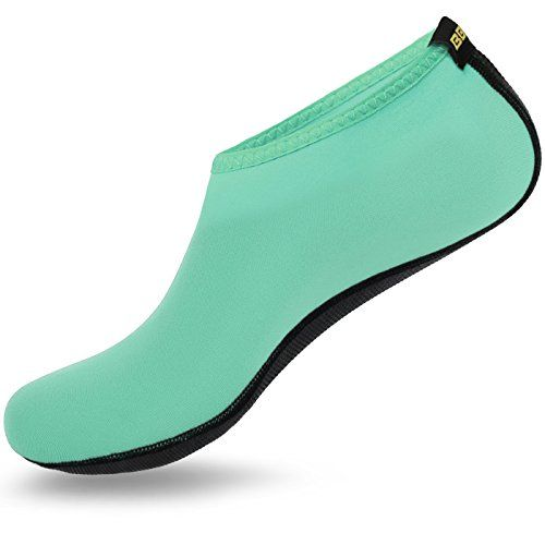 Barefoot Water Skin Shoes Boots Aqua Socks for Beach Swim Surf Black Size 47