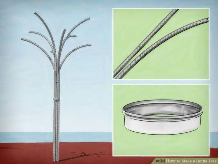How to Make a Bottle Tree: 13 Steps (with Pictures)