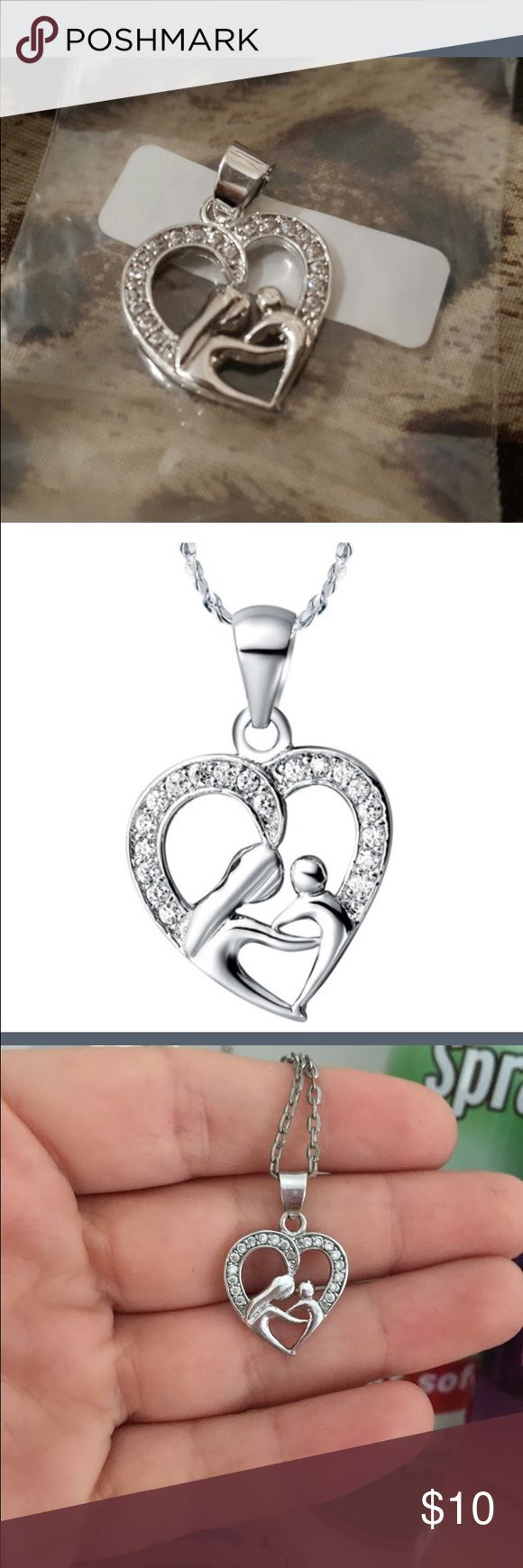 Brand new mother and child pendant ❤️ Silver mother and child pendant gorgeous perfect for mom 😄💜 Jewelry Necklaces