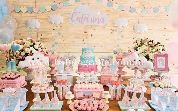 Ontem tivemos Chuva de Amor para Catarina!! Muito apaixonada por esse tema! Daqui a pouco posto as outras festas!! #chuvadeamor #festachuvadeamor #perbambinifestas