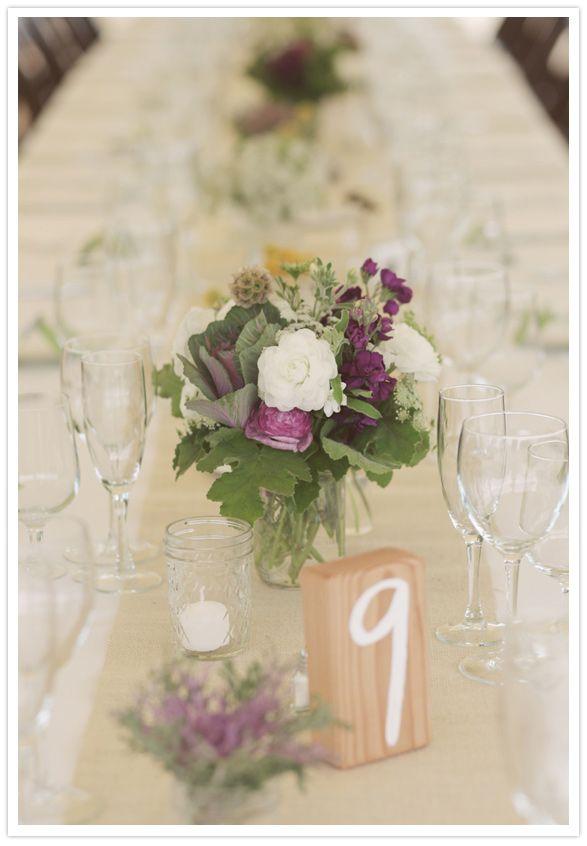 wood table numbers: Queen Anne, Dreams Wedding, 2012 Dreams, Wood Tables, Tables Numbers, 100 Layered Cakes, Mason Jars, Wedding Cakes Wood Purple, Jars Jars