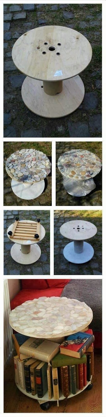 C r A f T - i D e A s - d I y: Make a table by recycling spool