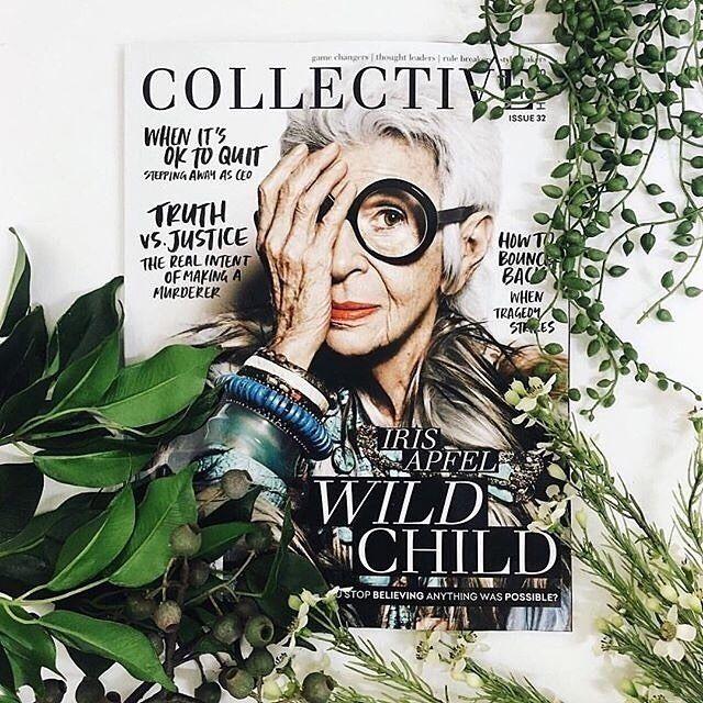 Iris Apfel #issue32 | collectivehub.com