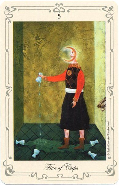 17 Best Images About ***Minor Arcana: Cups, 5 On Pinterest