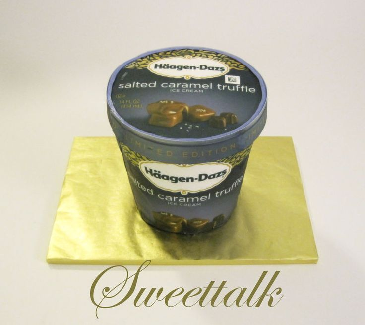 Haagen dazs cake sweettalk los angeles custom cakes