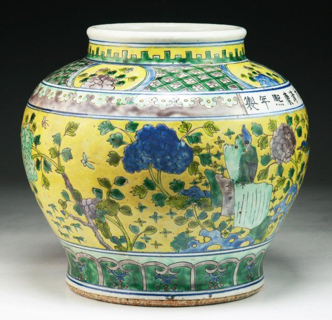 Asian pottery and antique