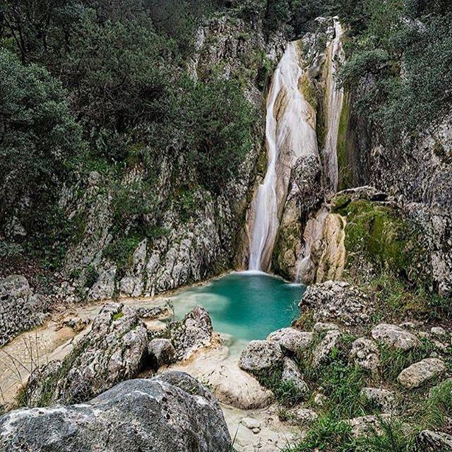 Kefalonia island, Greece.#KefaloniaParadise#kefalonia#island#view#waterfall#greece