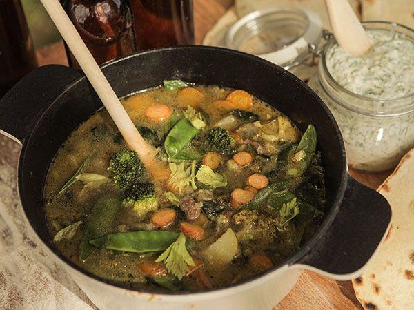 Trädgårdslandets lammsoppa   Recept.nu