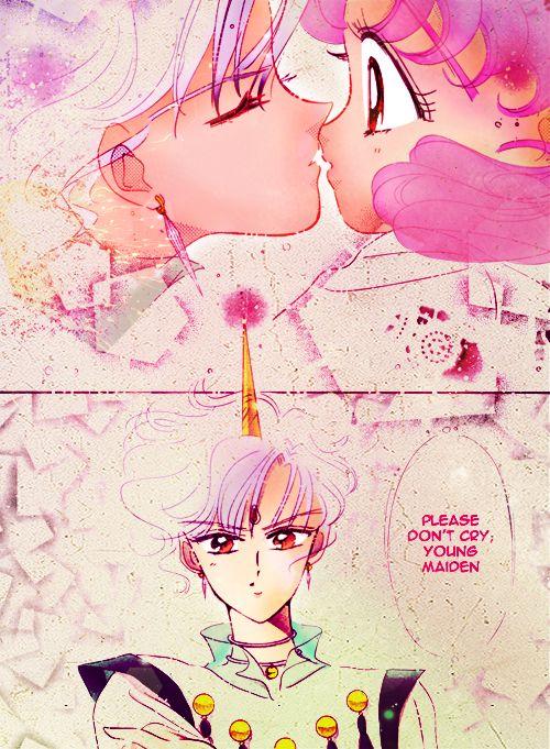 kawaiigraphix: Bishoujo Senshi Sailor Moon - Act 41 - Page 7 - manga coloringChibiusa and Helios