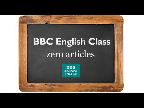 BBC English Class: YouTube