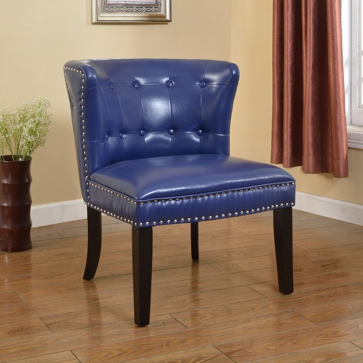 Best master furniture regal tufted faux leather accent