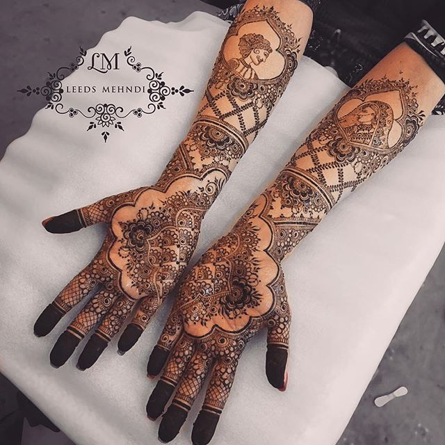 Front of @deepakbhambrafashiondesigner bridal henna  a mixture of Arabic and traditional Indian bride and groom   #brideandgroom #indianhenna #traditionalhenna #brideandgroomhenna #bridaloutfit #asianbride #intricatehenna #asianweddingideas #floral #mandalatattoo #hennastain #henna #lace #hennatattoo #hennadesigns #hudabeauty #bridalhenna #hennainspire #flashtattoo #simpletattoo #temporarytattoo #hennatutorial #arabichenna #arabictattoo #hennastain #naturalhenna #asianwedding #mandalaart ...