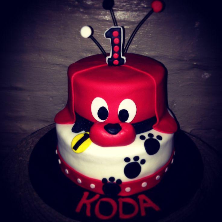 Clifford Birthday Cake