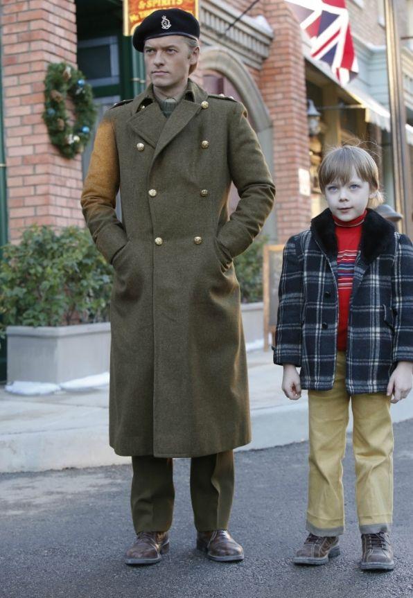 "On NCIS ""Spinning Wheel"" (Season 13, Episode 11)  Adam Campbell as Young Donald ""Ducky"" Mallard and Andy Walken as Nicholas Mallard."