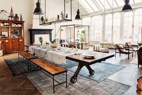 The Loft showcasing inspirational modern details in Amsterdam