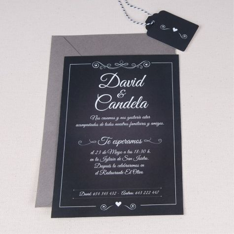 33 best invitaciones papelera regalos images on pinterest invitacin de boda pizarra petipress wedding invitationswhiteboard stopboris Gallery
