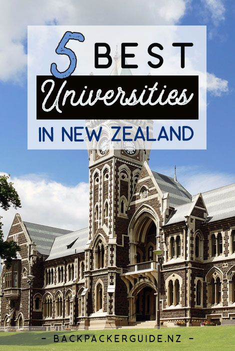 The best places to study in New Zealand.  Studying in New Zealand is a unique opportunity to further your career prospects while experiencing a country of stunning landscapes, fascinating culture and wildlife. All eight of New Zealand's universities rank on the Times Higher Education World University Rankings, and we have listed the best universities in New Zealand below. If English is not your first language, then New Zealand is the perfect place to improve your English not only by using it…