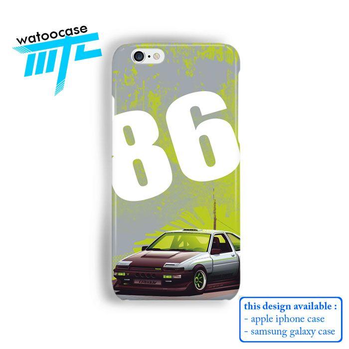 Toyota AE 86 Hachiroku Phone Case   Apple iPhone 4 4s 5 5s 5c 6 6s Plus Samsung Galaxy S3 S4 S5 S6 S7 EDGE Hard Case. Toyota AE 86 Hachiroku