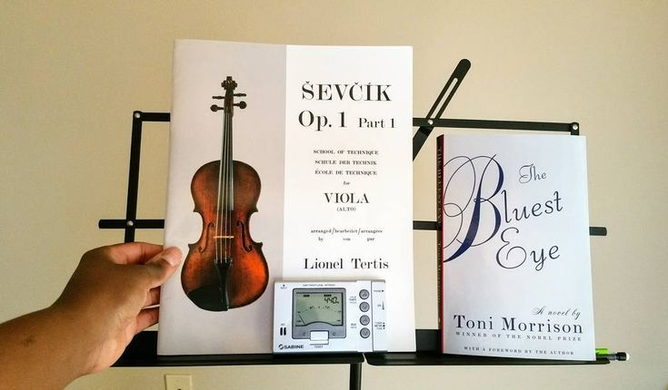 Practicing my viola and then reading some of THE BLUEST EYE.  @vernitraontheviola ___________________________________  Watch and subscribe to my YouTube channel Vernitras Book Club by clicking on the link in my profile!  ___________________________________  #vernitrareadsthebluesteye #vernitrasbookclub #bookstagram #booklove #booklover #bookworm #bibliophile #bookish #reading #reader #currentlyreading #bookblog #bookblogger #booktube #booktuber #writer #writers #librarian | #readingvlog…