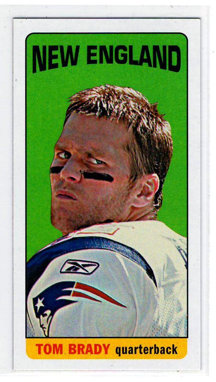 Sports Cards Football – 2015 Panini Prizm Draft Picks Tom Brady / 2012 Topps Mini Tom Brady