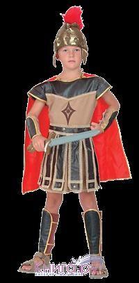 Древние римские костюмы воинов