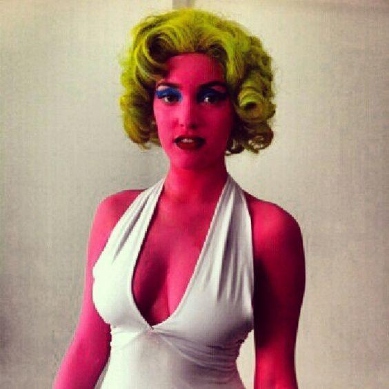 diy marilyn monroe halloween costume idea - Art Costumes Halloween