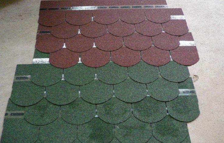 China Durable Fiberglass Light Fish Scale Asphalt Roofing