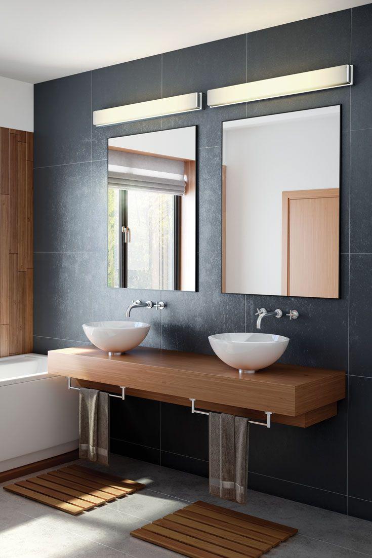 Bathroom Vanity Light Diffuser : 97 best Bathroom Lighting Ideas images on Pinterest Bathroom lighting, Lighting ideas and ...