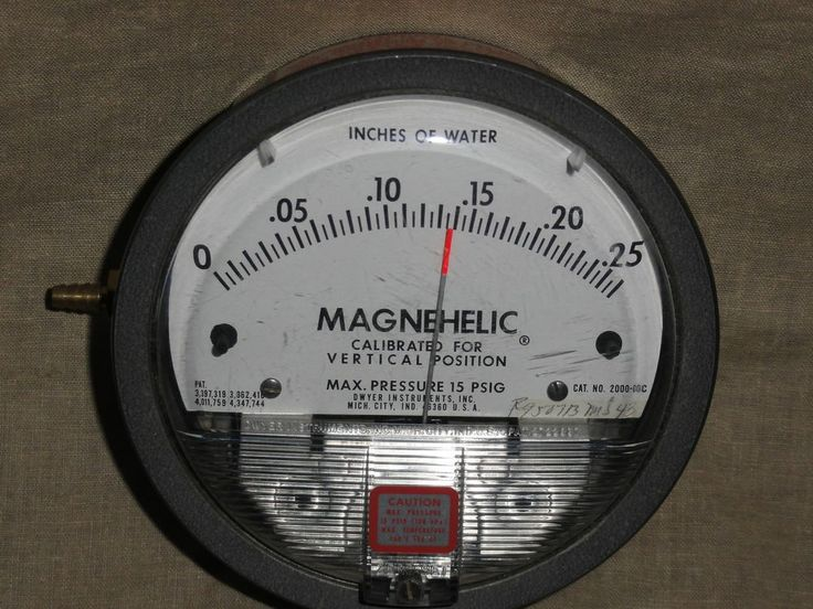 Dwyer Magnehelic Differential Pressure Gauge #Dwyer