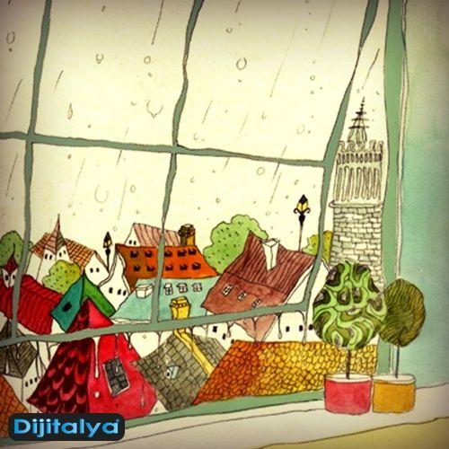 Pazartesi sendromuna karşı, sıcak bir bitki çayı ve manzara ile kendinize küçük bir mola verin. #Dijitalya  #monday #pazartesi #sendrom #Öneri
