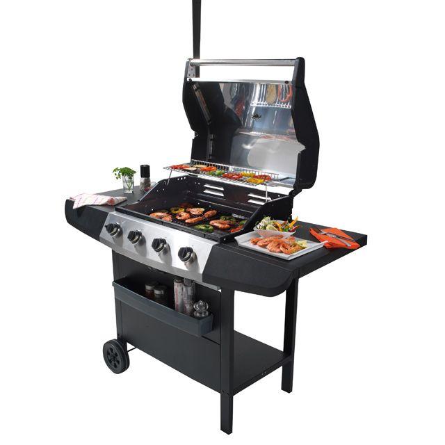 Barbecue à gaz Ultar prix promo Castorama 199.00 € TTC