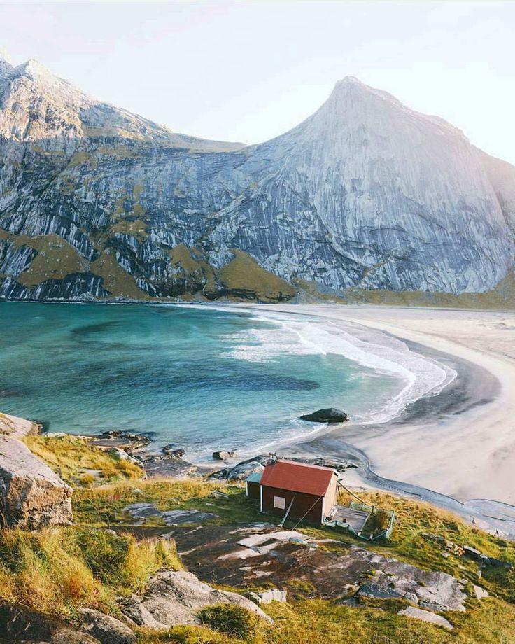 Bunes beach Lofoten Norway By alexstrohl Tag someone you