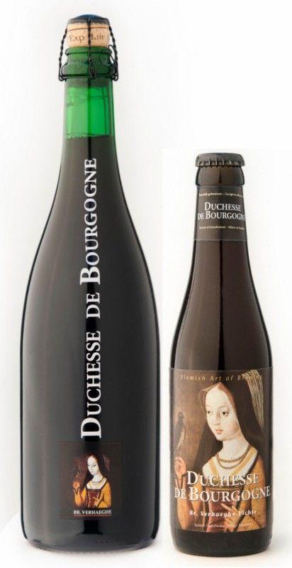 Cerveja Duchesse de Bourgogne, estilo Flanders Red Ale, produzida por Verhaeghe, Bélgica. 6.2% ABV de álcool.