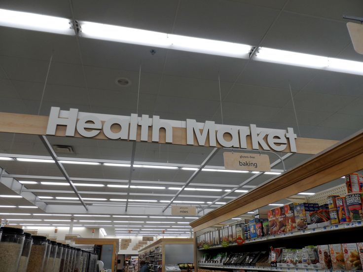 Our Health Market has been expanded and now has more organic, local and bulk items! #organic #healthmarket