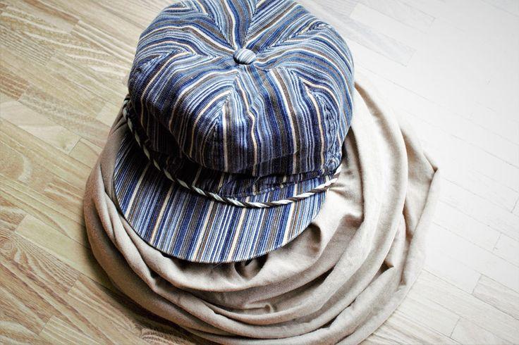 Mütze, Hut, Cordkappe und Schlauchschal. Gebraucht und gut erhalten
