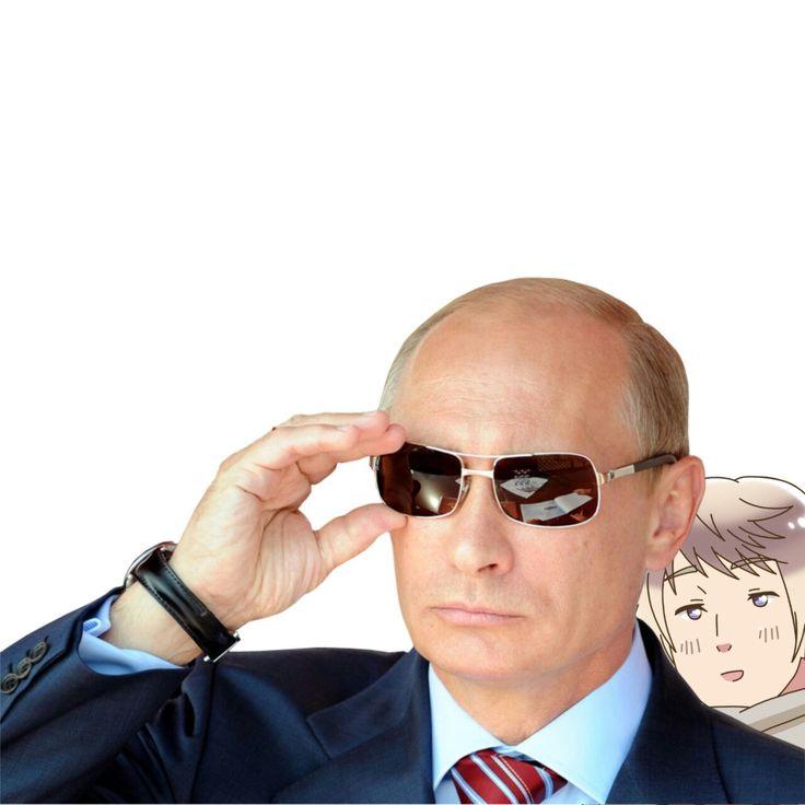 Hetalia - Russia and Putin❤