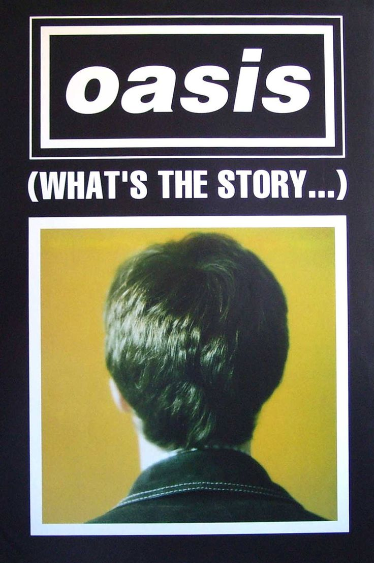 (What's the Story) Morning Glory? Poster