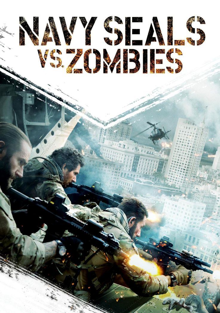 Poster for the horror film Navy Seals Vs. Zombies. You can read this review and more at HorrorTalk.com.