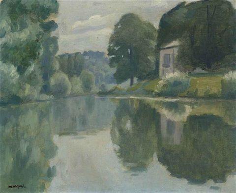 Albert Marquet - Marne à Champigny